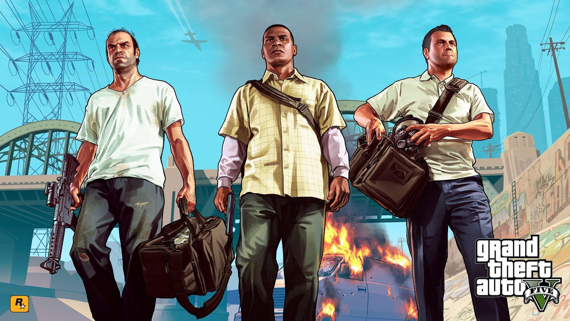GTA V Rockstar Games لعبة