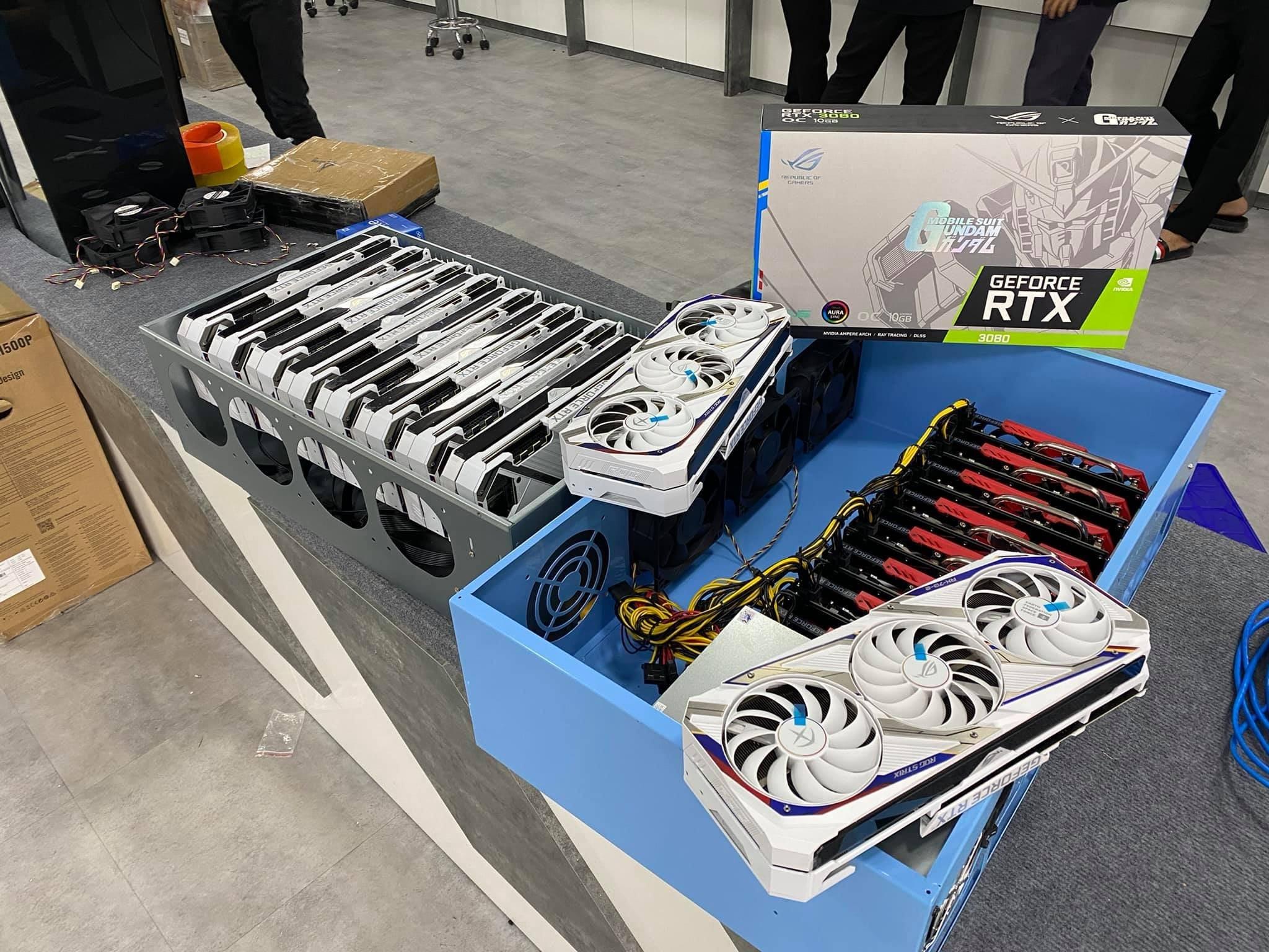ASUS NVIDIA RTX 3080 GUNDAM