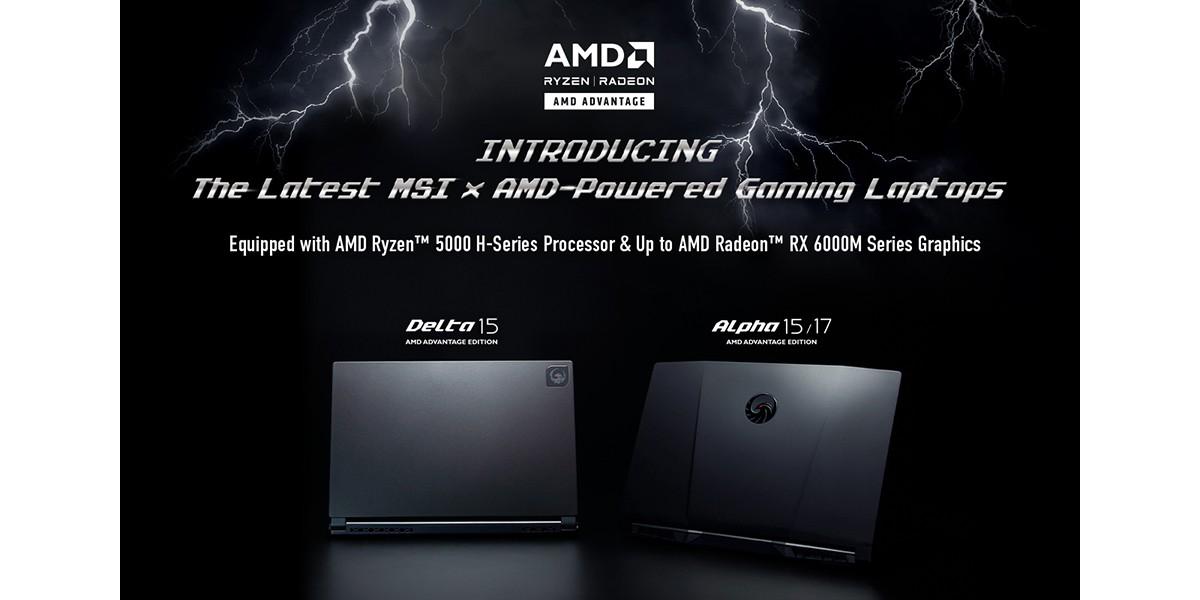 MSI AMD Version Laptop