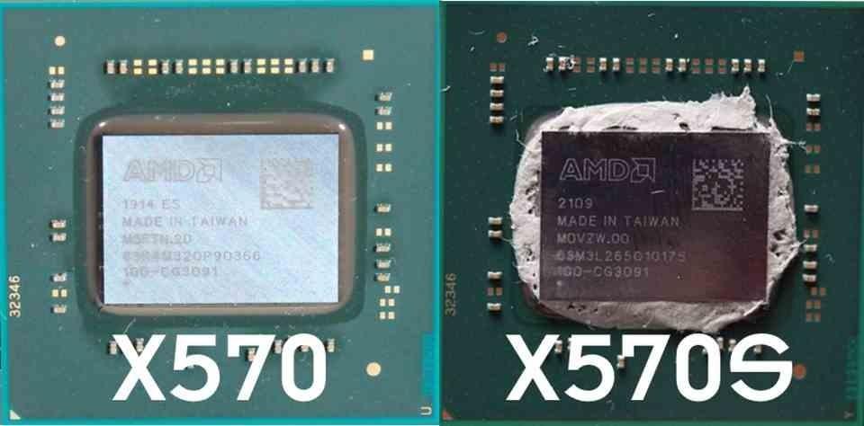 AMD X570S vs X570