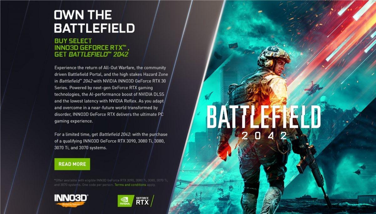 Battlefiedl 2042 NVIDIA RTX Bundle