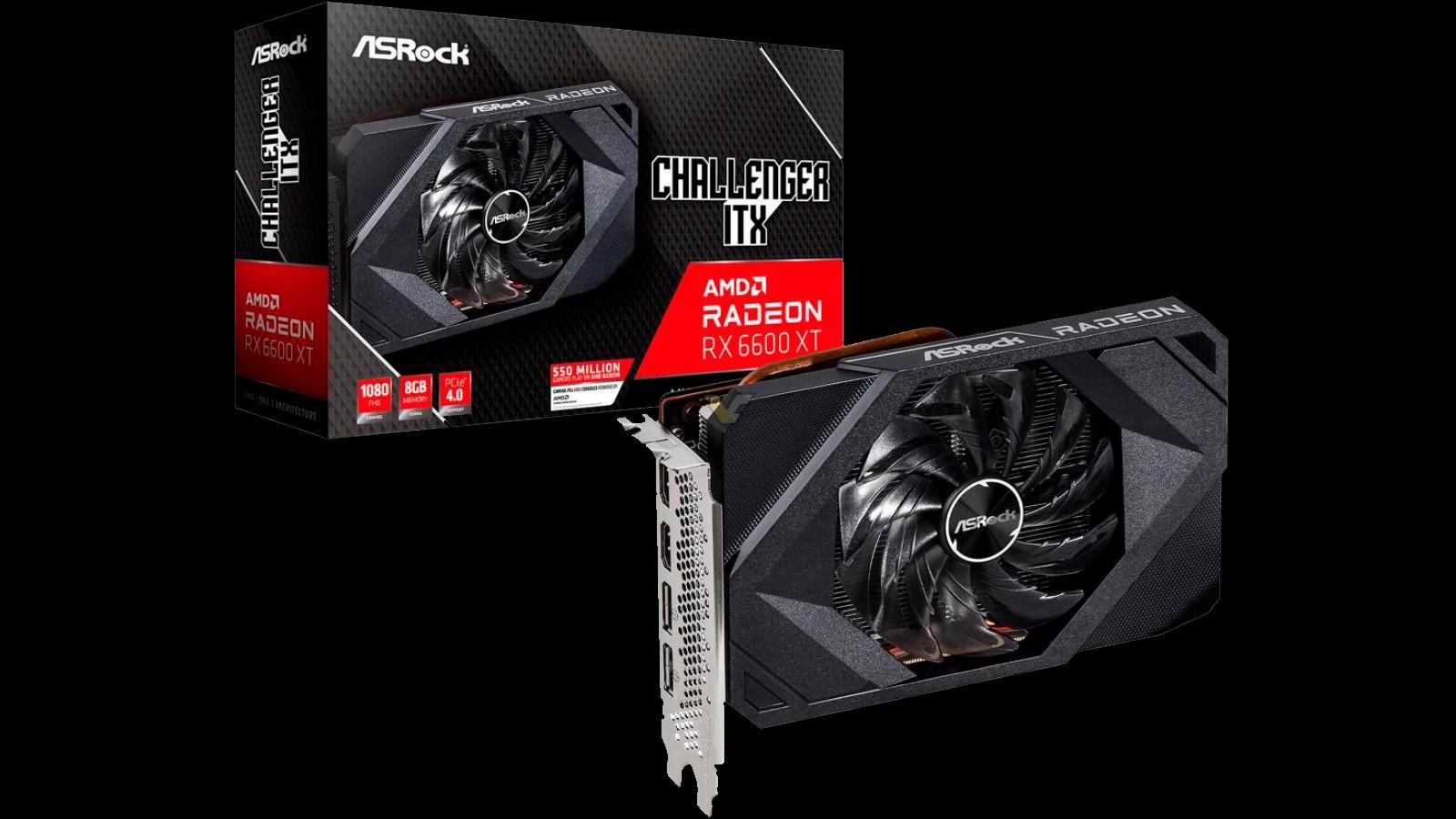 AMD Radeon RX 6600 XT ASrock ITX