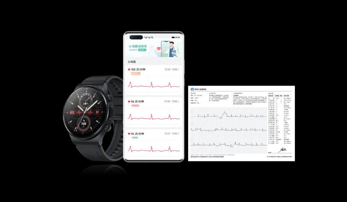 هواوي Watch GT 2 Pro ECG