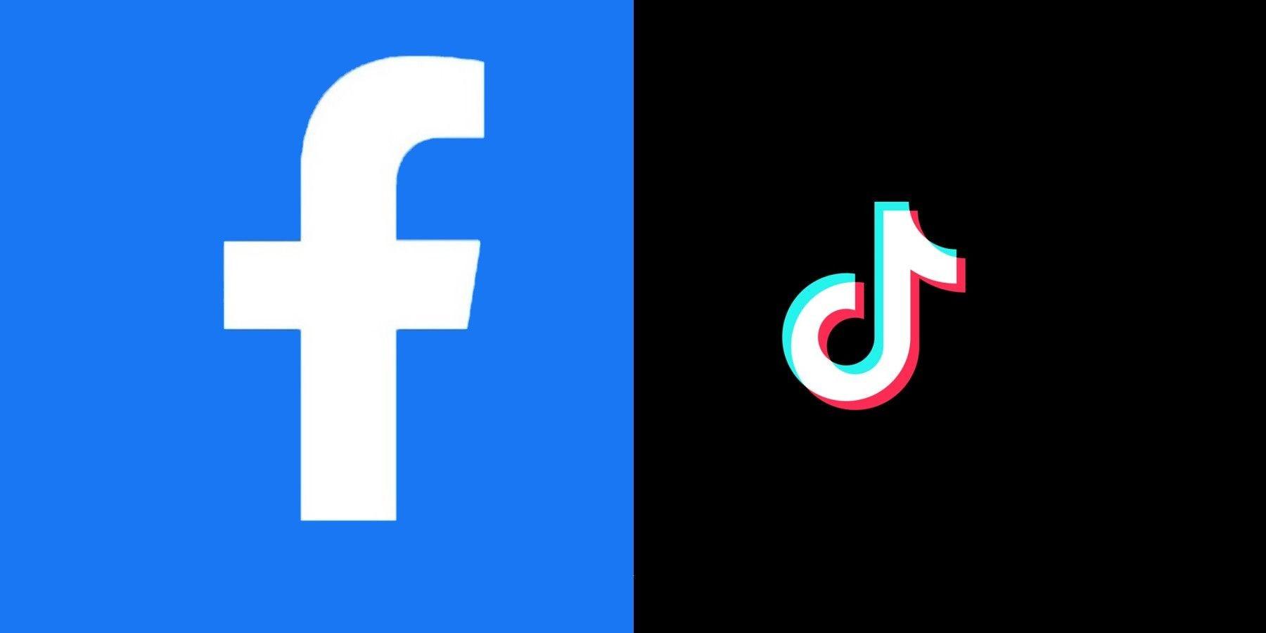 فيسبوك - تيك توك