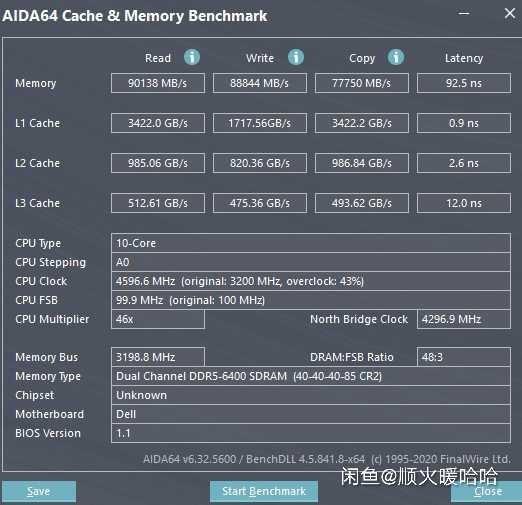 Intel DDR5 Benchmark