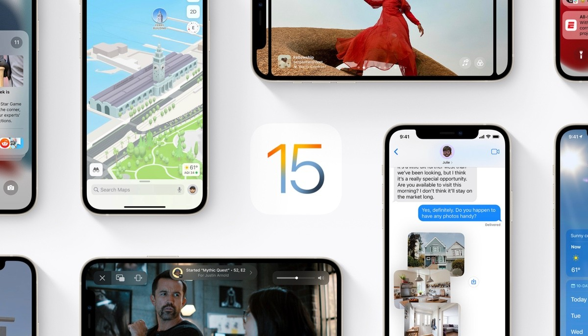 apple - iOS15