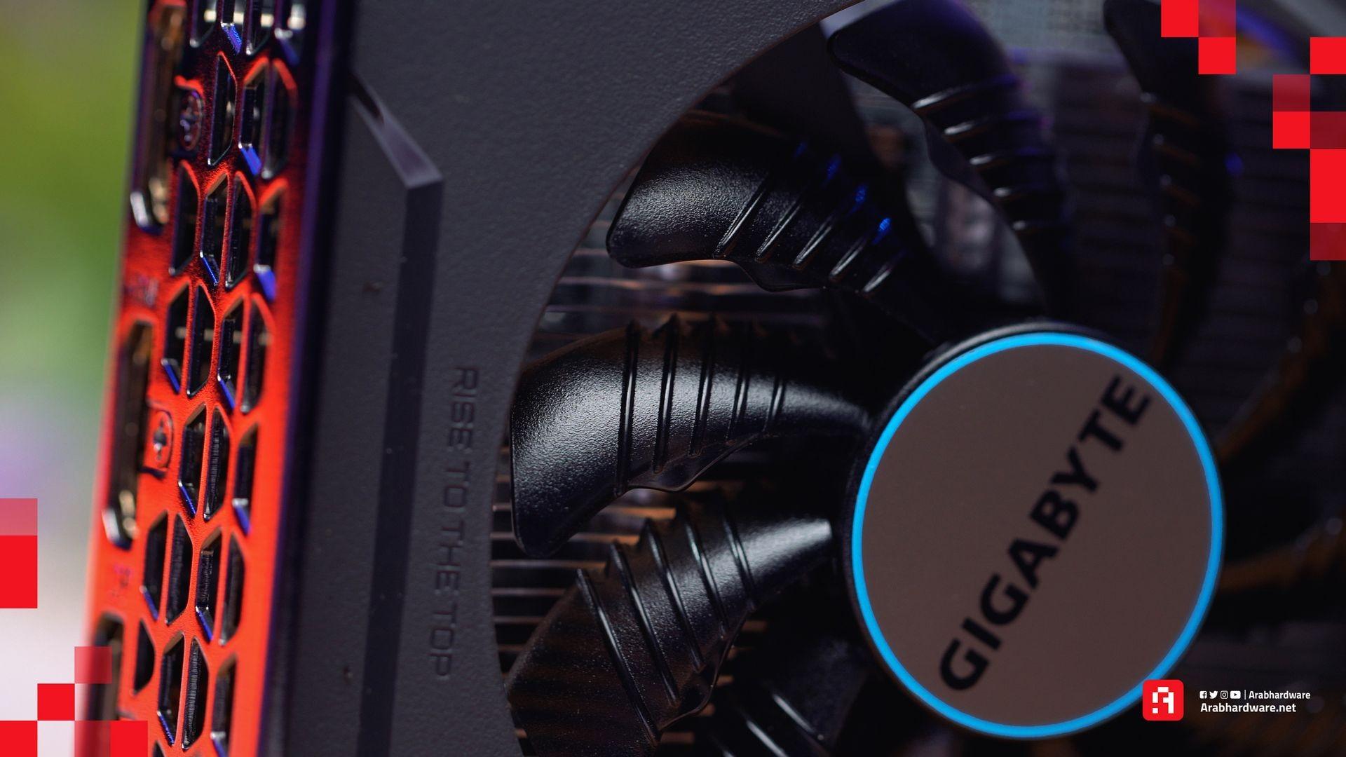 Radeon RX 6600 تبريد