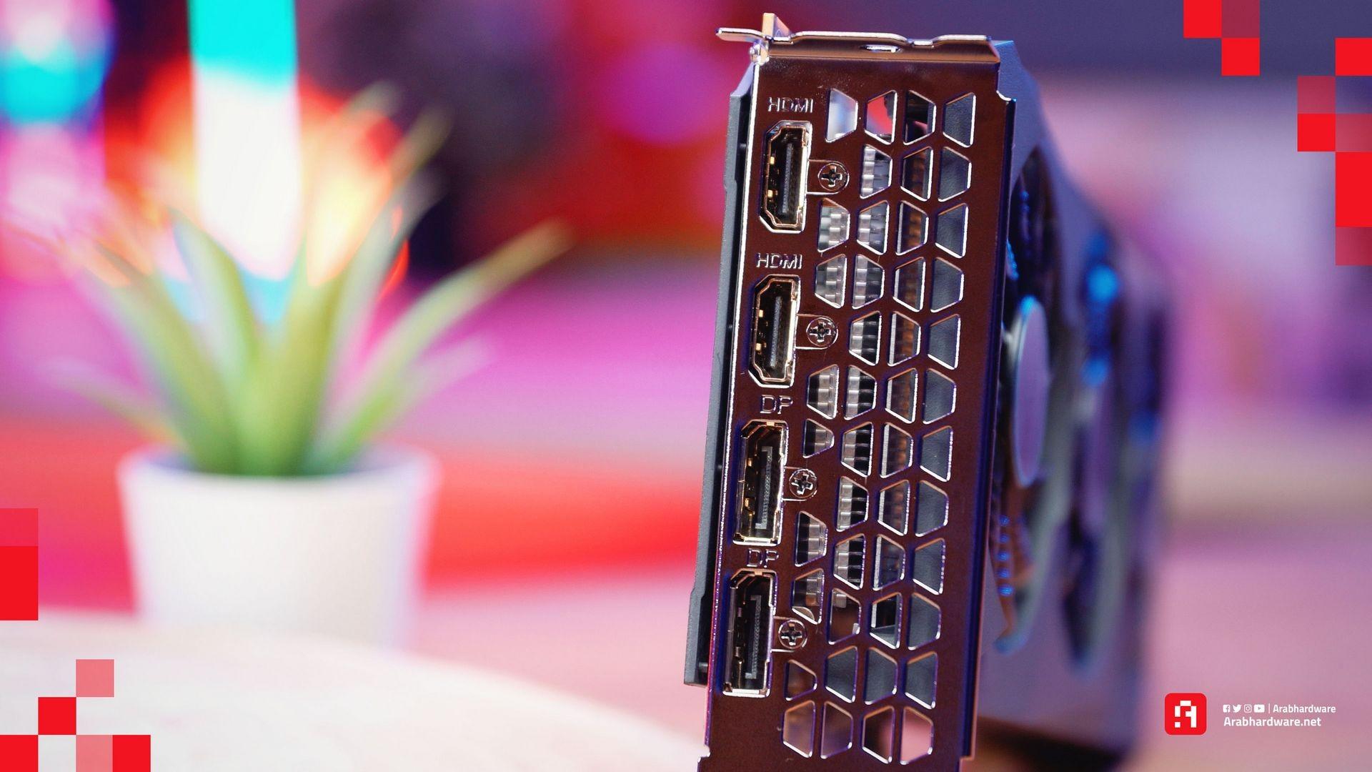 Radeon RX 6600 منافذ