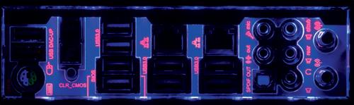 I/O Panel LED