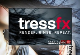 تقنية TressFX Hair
