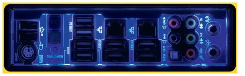 Rear Panel LED