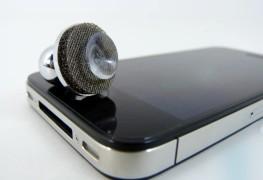 صوره افتراضيه لjoystick و هاتف iPhone