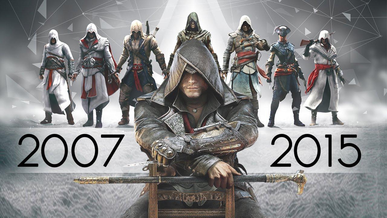 تعرف على سلسلة Assassin's Creed الرئيسية منذ بدايتها إلى الآن