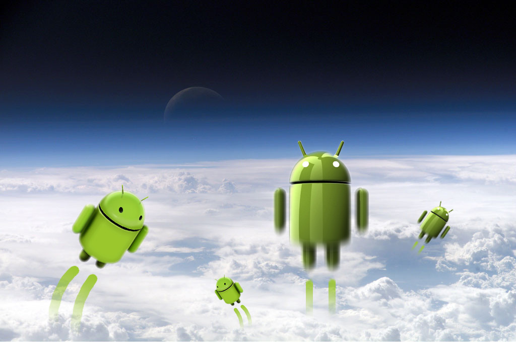 android-in-space