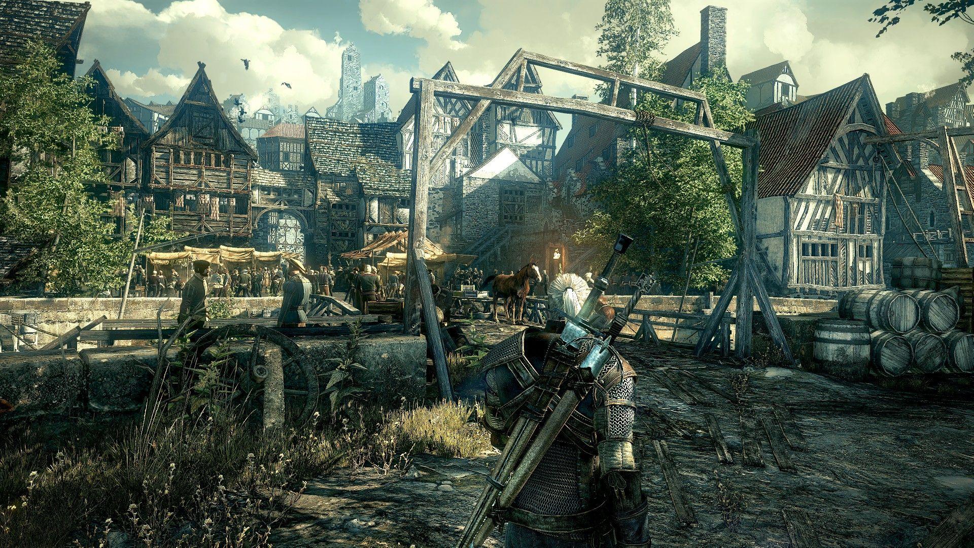 الموضوع الرسمي للعبة The Witcher 3:Wild Hunt