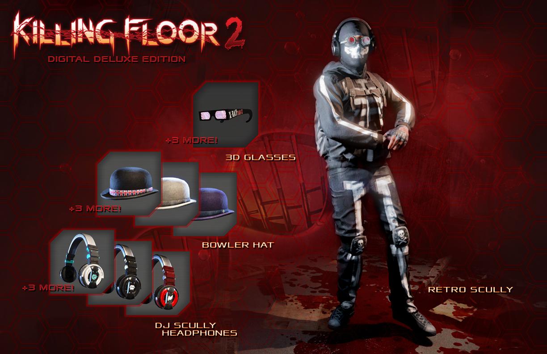 نسخة Digital Deluxe للعبة Killing Floor 2