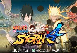 عرض إطلاق Naruto Shippuden Ultimate Ninja Storm 4
