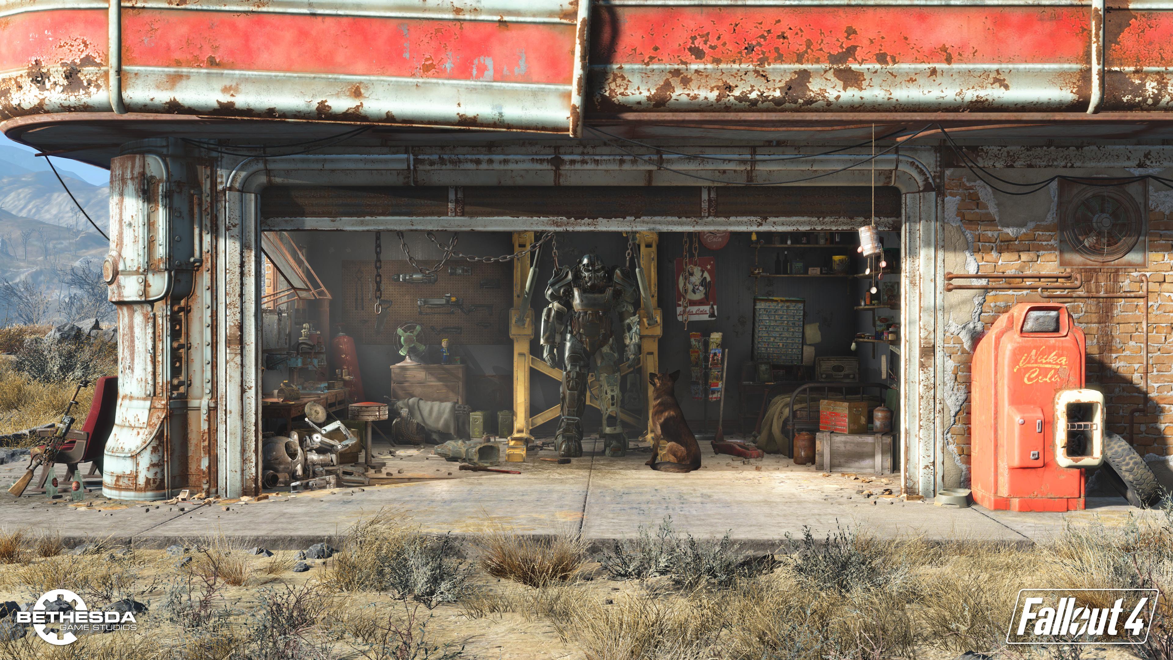 تعديلات لعبة Fallout 4