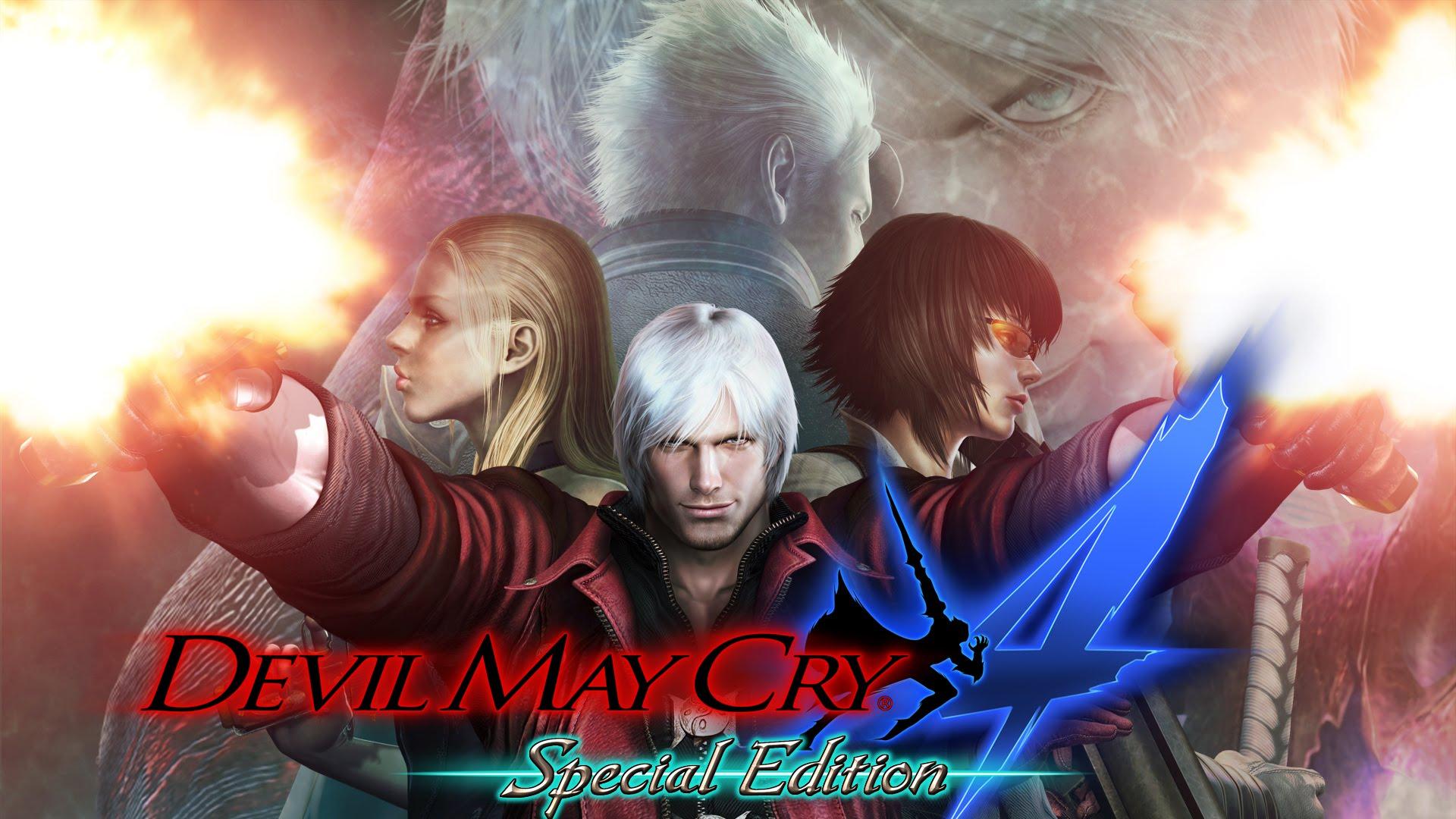 شاهد عرض إطلاق النسخة الخاصة للعبة Devil May Cry 4