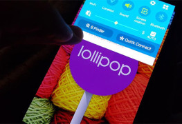 Android Lollipop على Galaxy Note 4