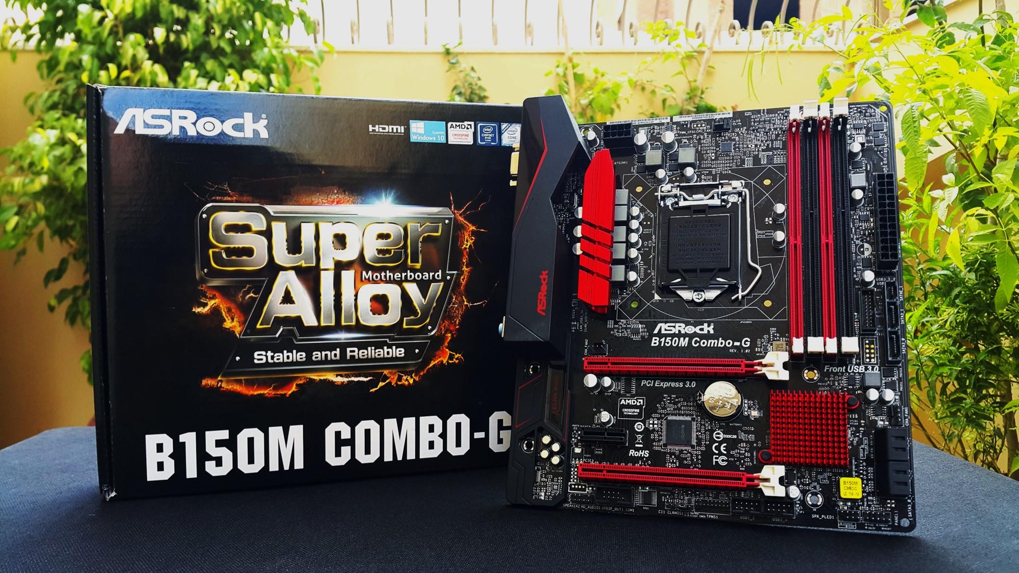 Asrock B150M Combo G Box + Motherboard