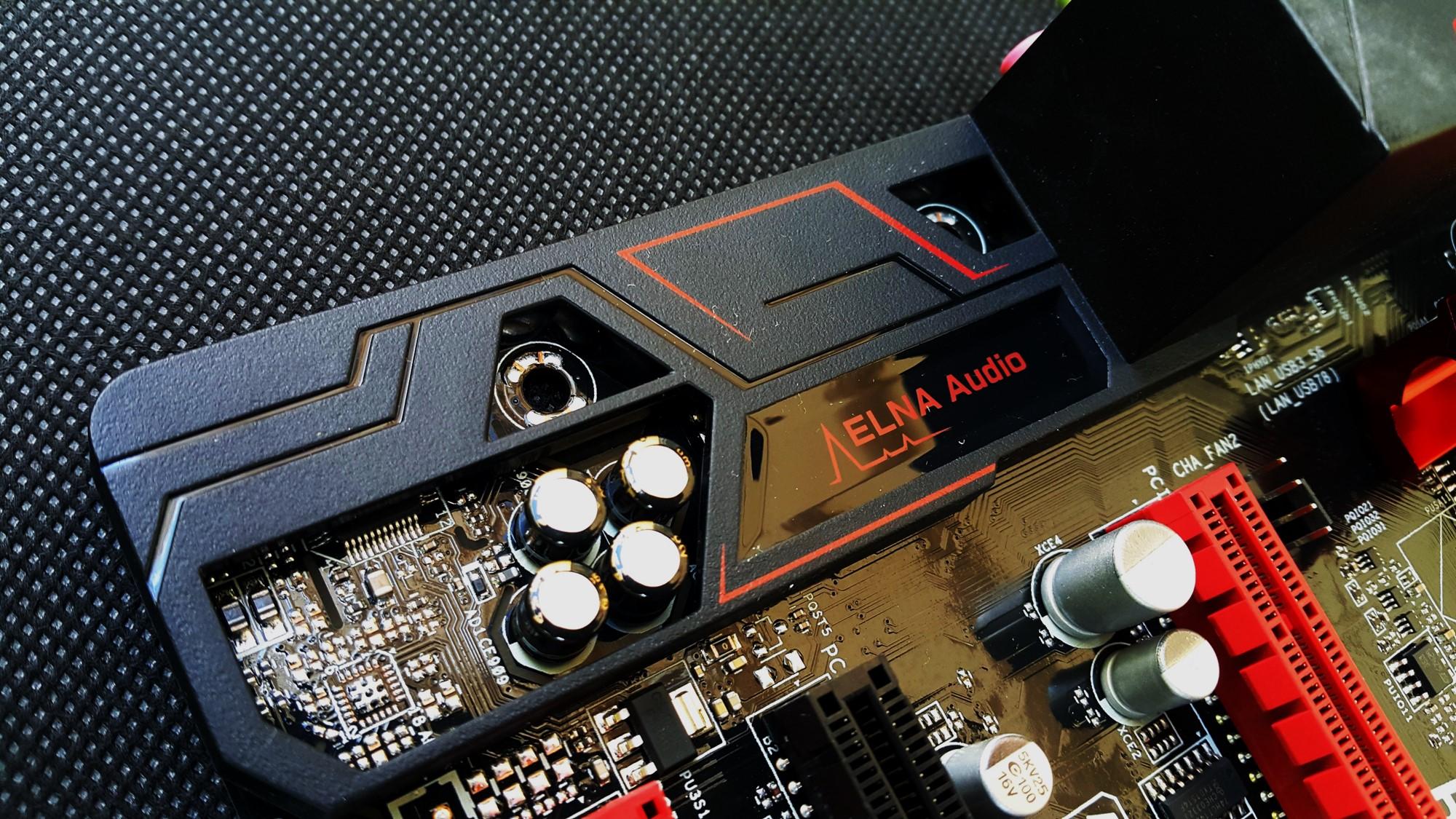 Asrock B150M Combo G ELNA Audio