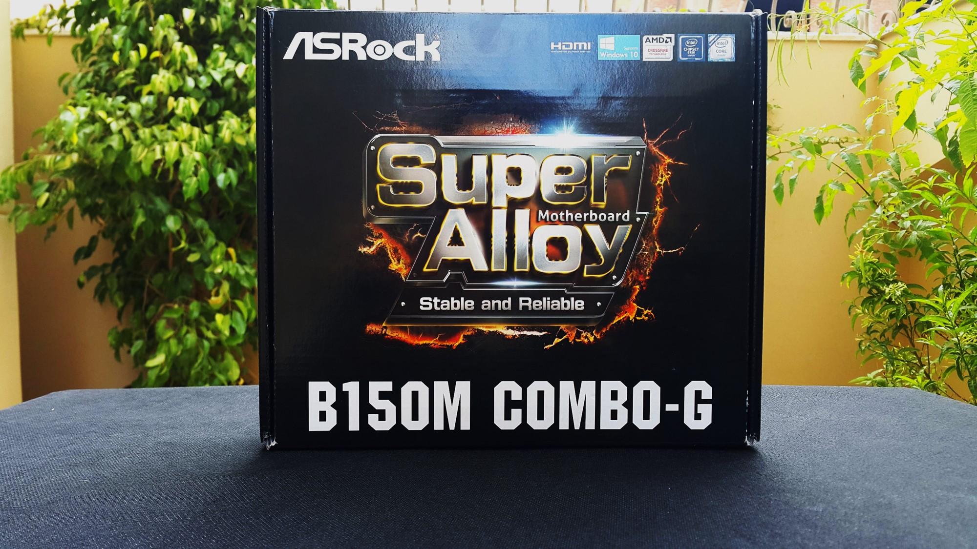 Asrock B150M Combo G Box Front
