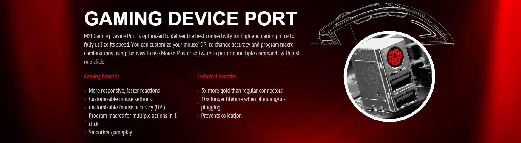 Gaming Ports