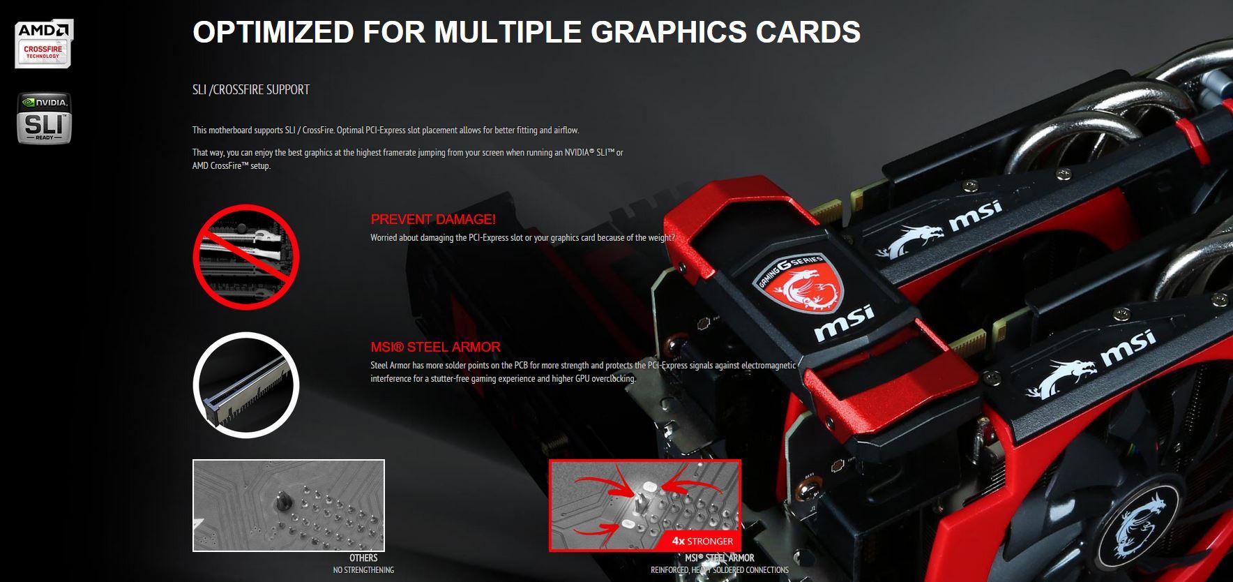 Multi GPU Steel Armor