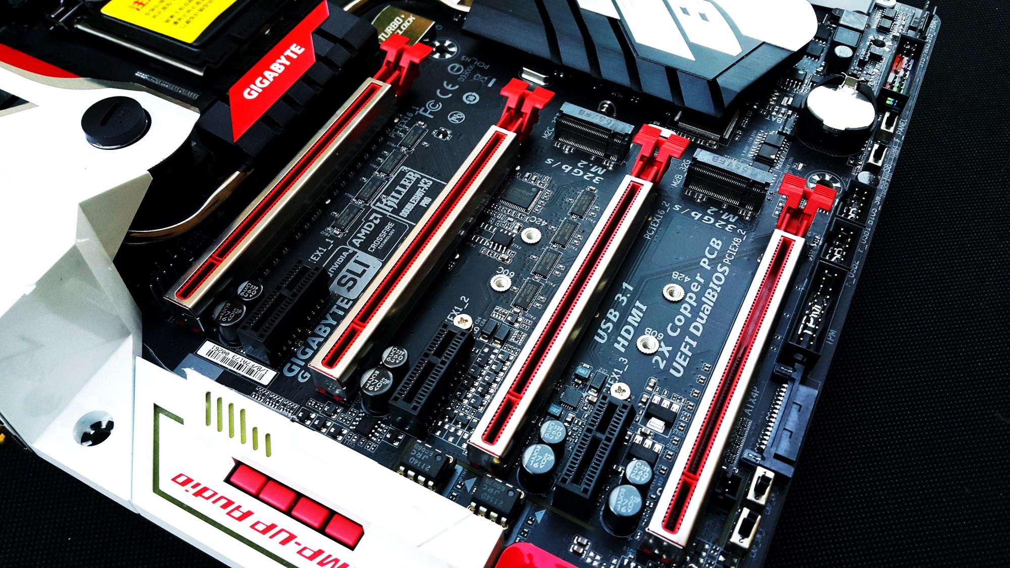 Gigabyte Z170X Gaming G1 PCI-E Slots