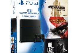 الإعلان عن حزمة الألعاب الثلاثية مع جهاز PS4 بحجم 1 تيرا