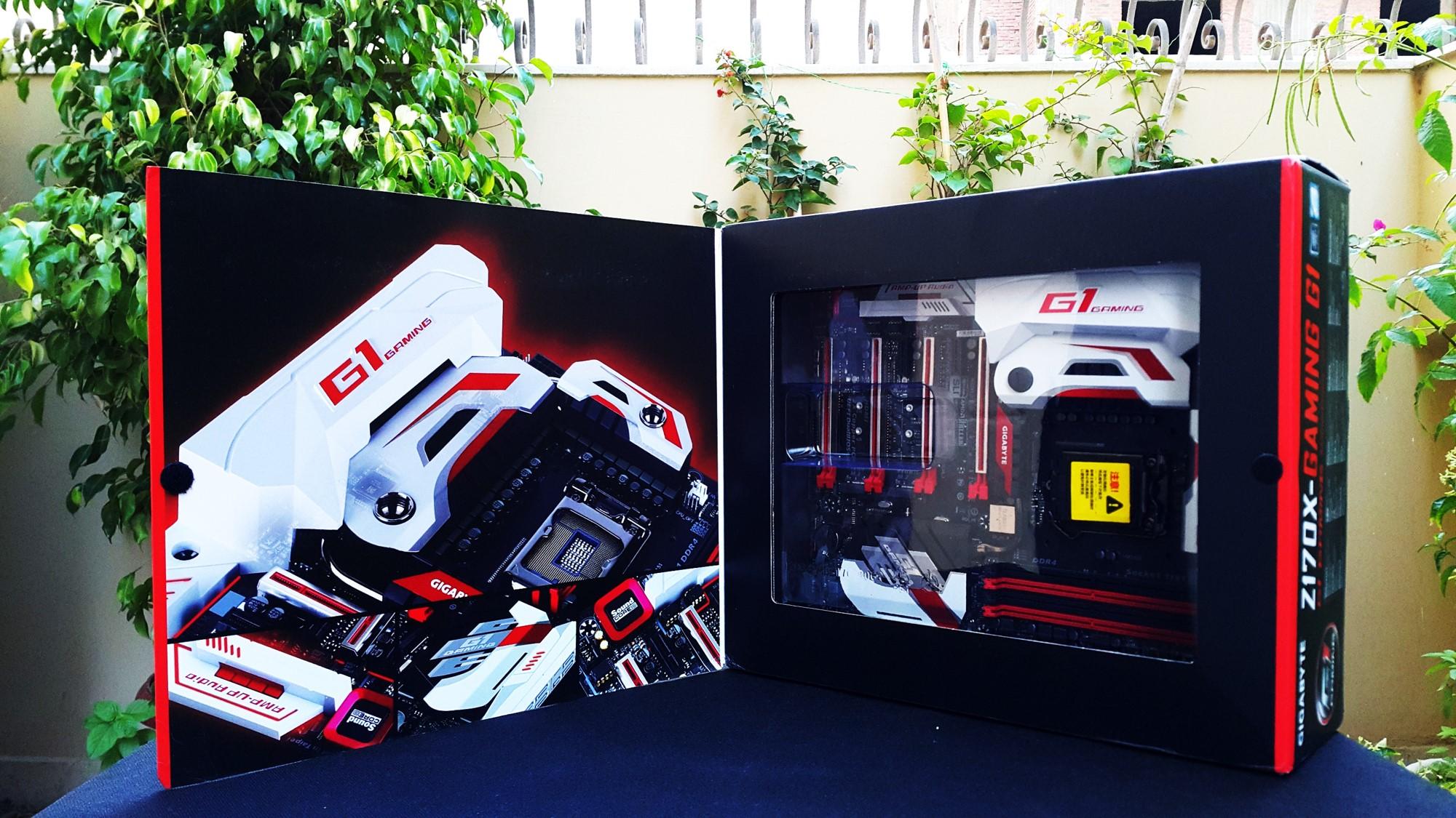 Gigabyte Z170X Gaming G1 Box open
