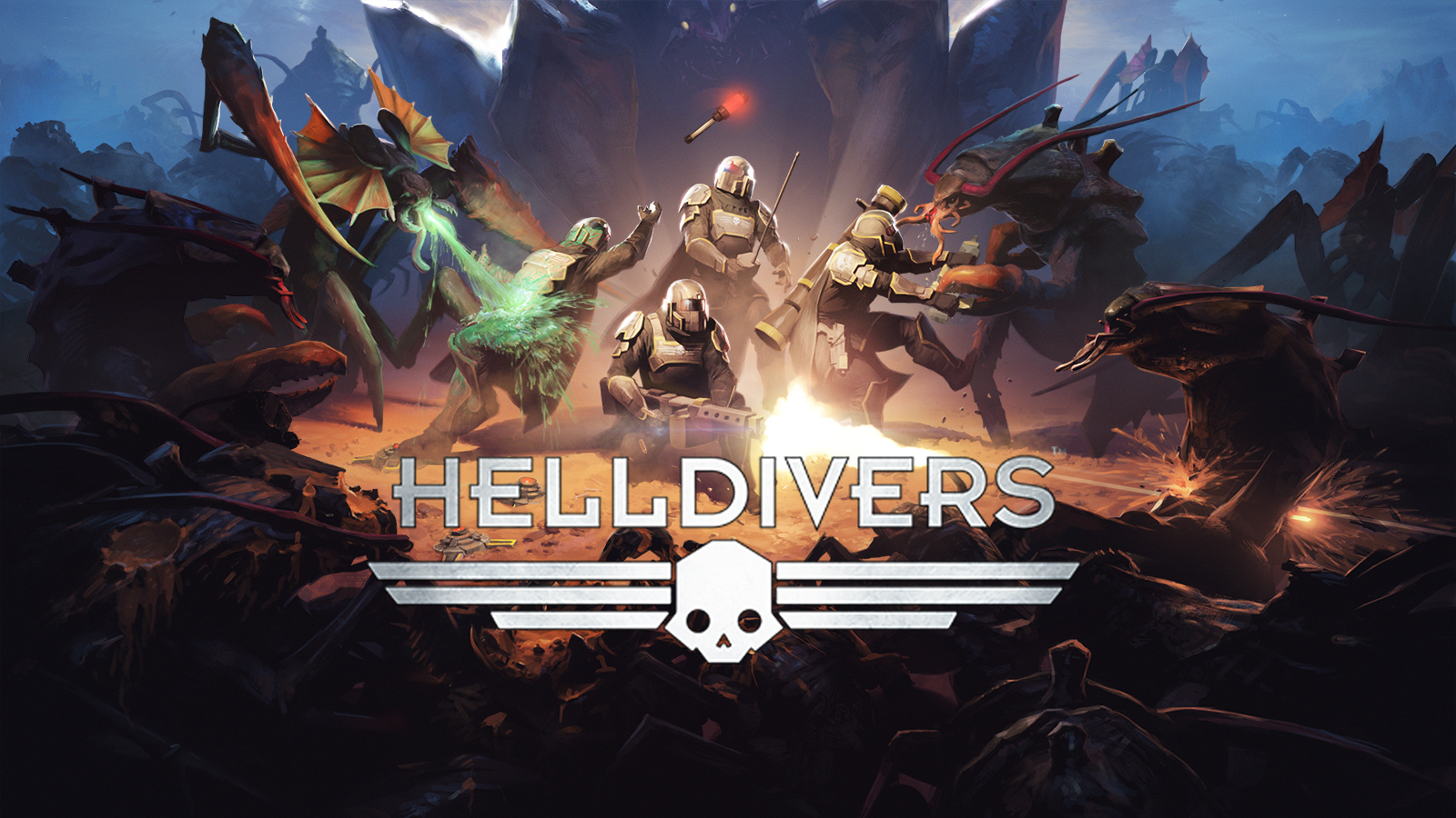 رسمياً قدوم لعبة HELLDIVERS لمنصة PC شاهد عرضها الأول