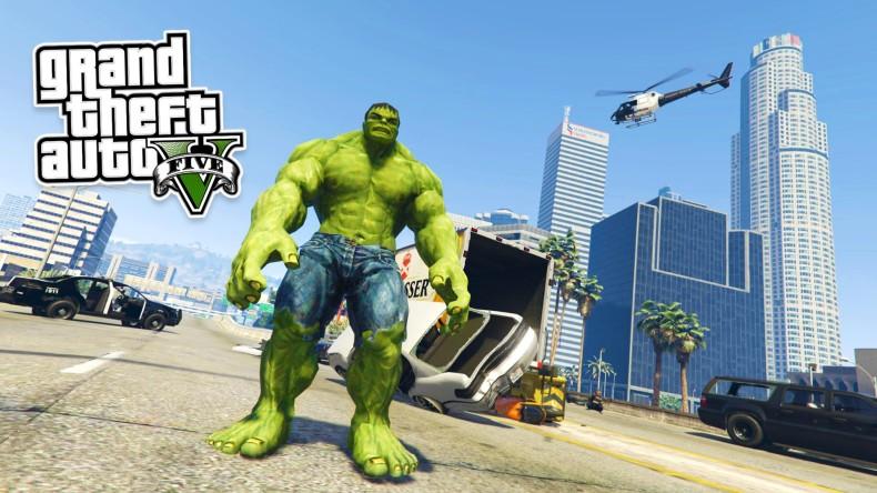 كيف تضيف الرجل الأخضر الخارق Hulk للعبة GTA V