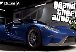 إعادة إخراج عرض إطلاق لعبة السباقات Forza 6 على طريقة GTA V