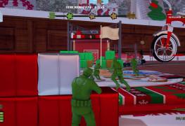 المراجعة الشاملة للعبة الشوتر من الجنود البلاستيك The Mean Greens