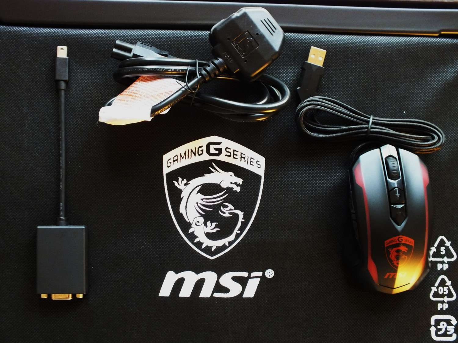 9- MSI GS60 6QE Ghost Pro Mouse ThunderBolt