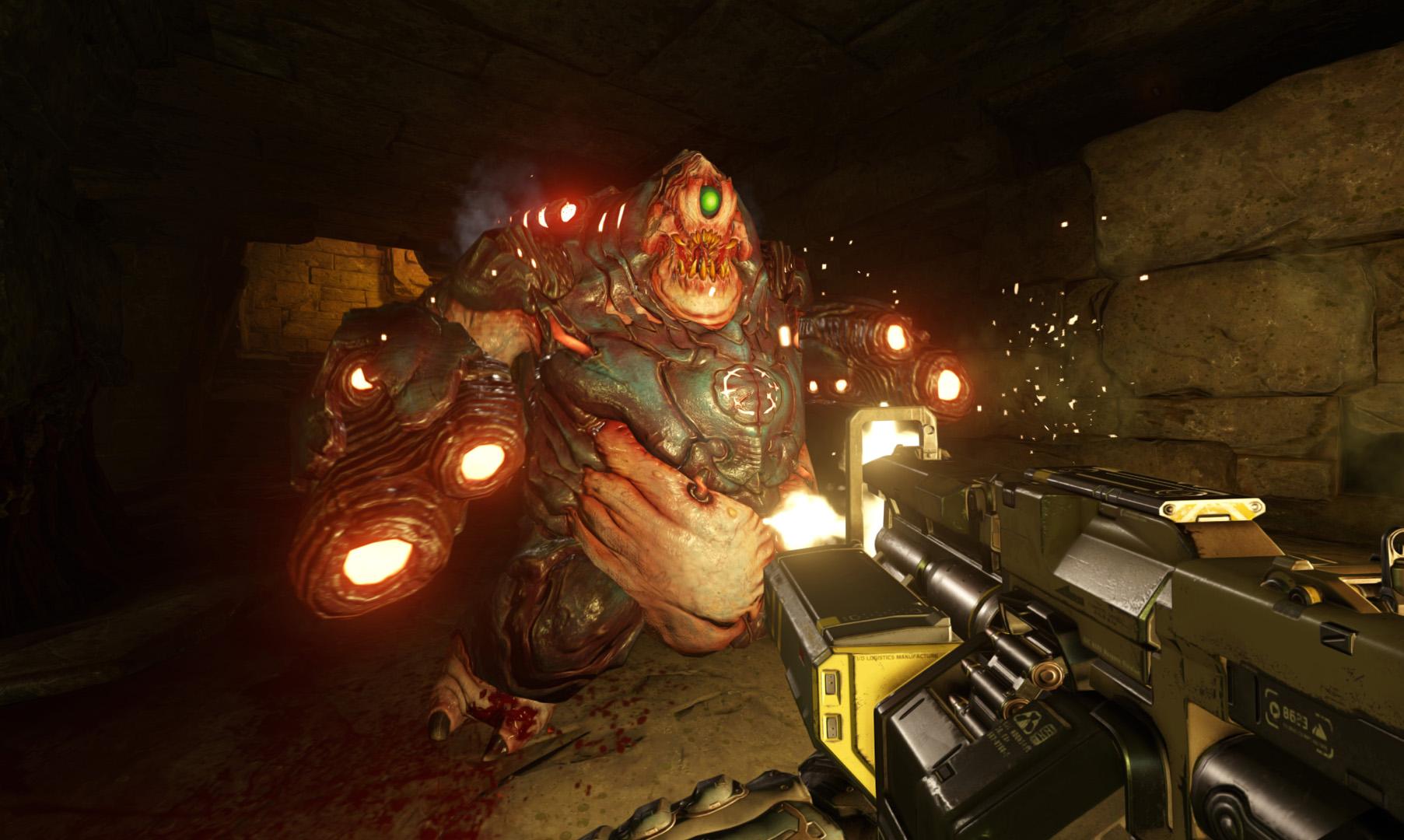شاهد صور مروعة جديدة للعبة المنتظرة DOOM