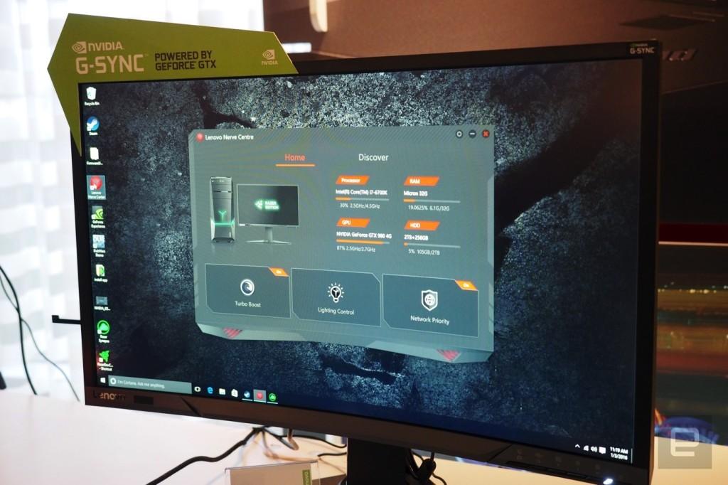 شاهد الحاسوب المكتبي Lenovo Y900 Razer Edition - عرب هاردوير