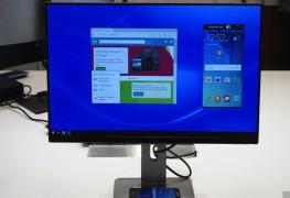 شاشة عرض لاسلكية من Dell