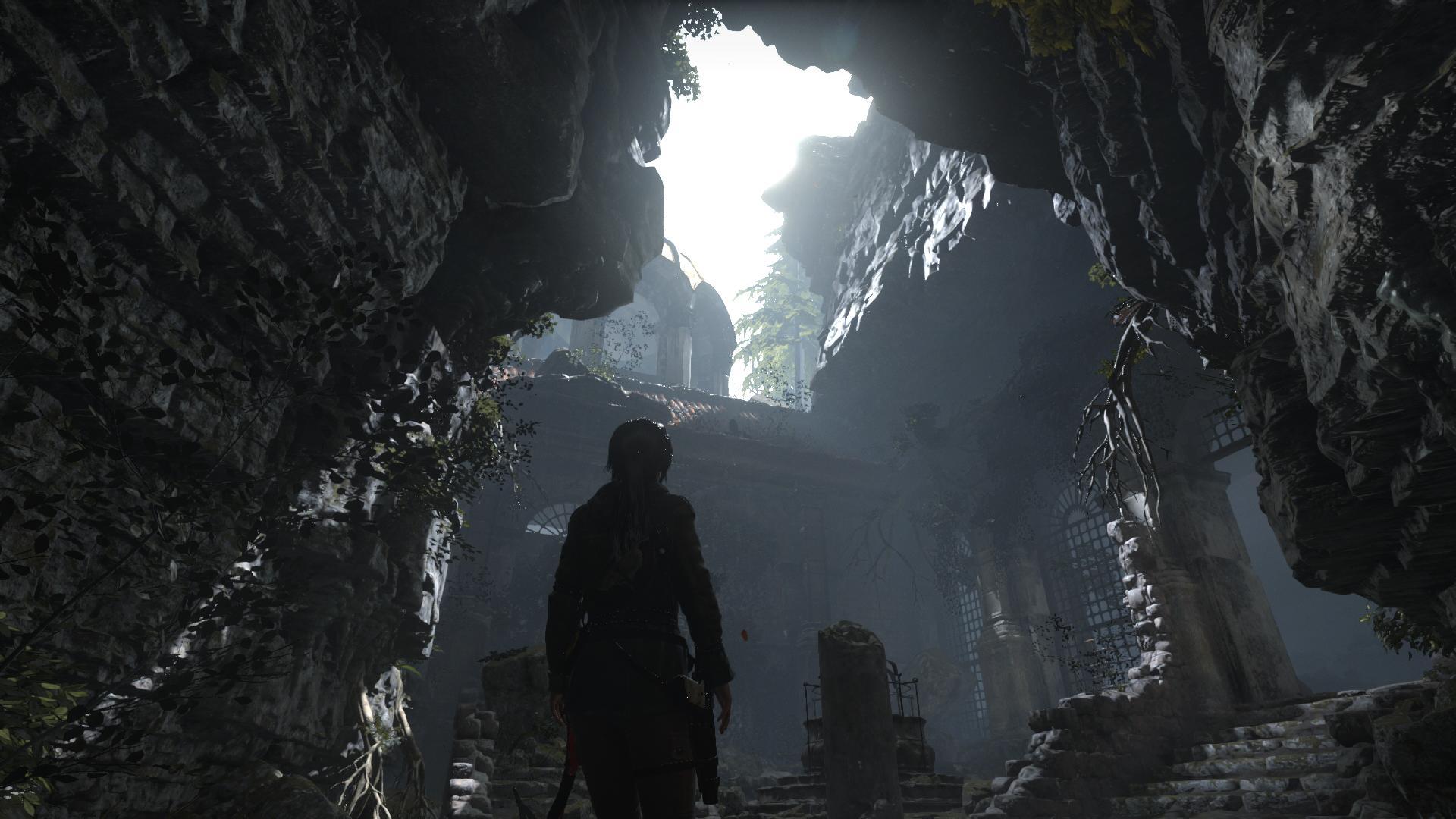 مقارنة بصور GIF للعبة Rise of the Tomb Raider على PC & Xbox One