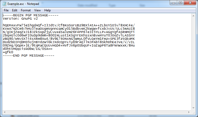 PGP encrypted