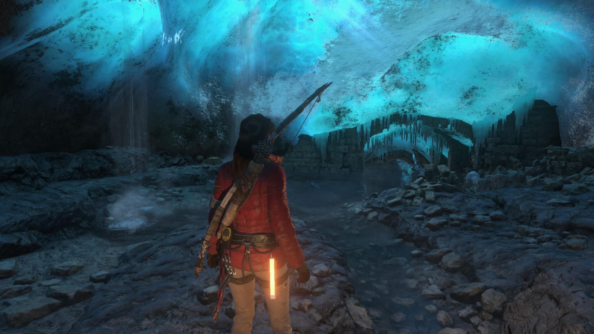 صور أكثر من جنونية للعبة Rise of the Tomb Raider على PC