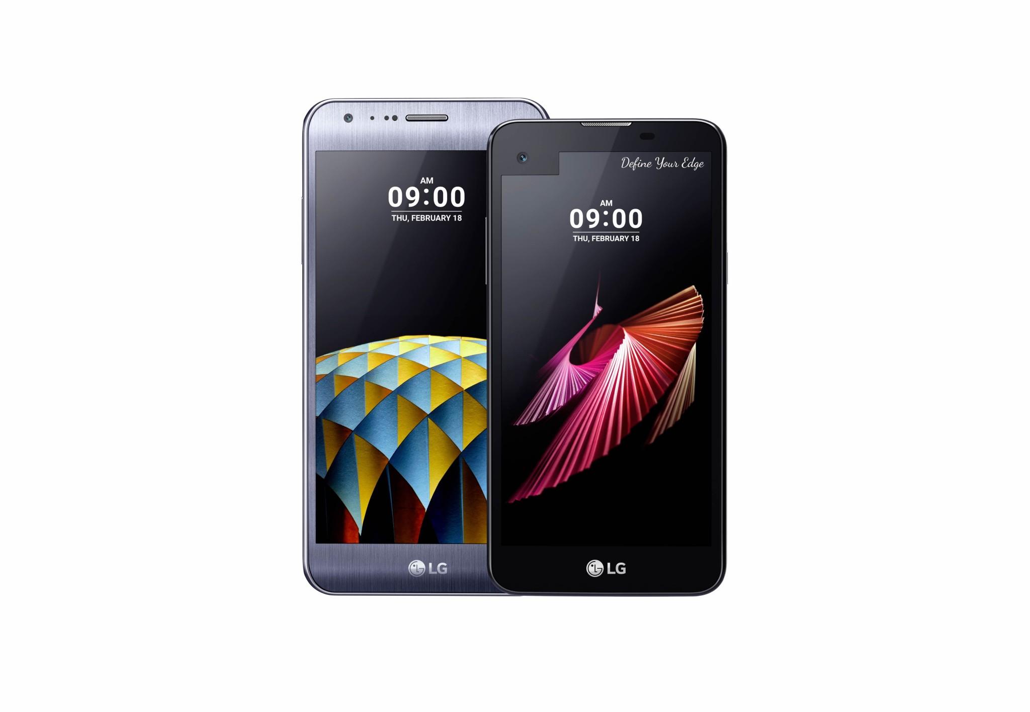 سلسلة الهواتف الذكية LG X
