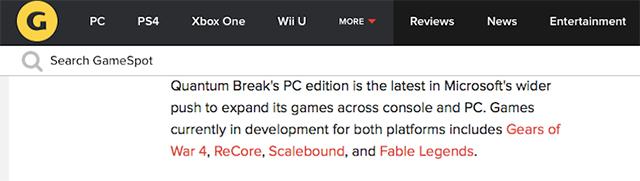 إشاعة Forza Horizon 3 & Scalebound وحصريات أخري قادمة لمنصة PC
