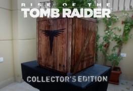 بالفيديو انبوكسنج لصندوق نسخة المجمعين للعبة Rise of The Tomb Raider