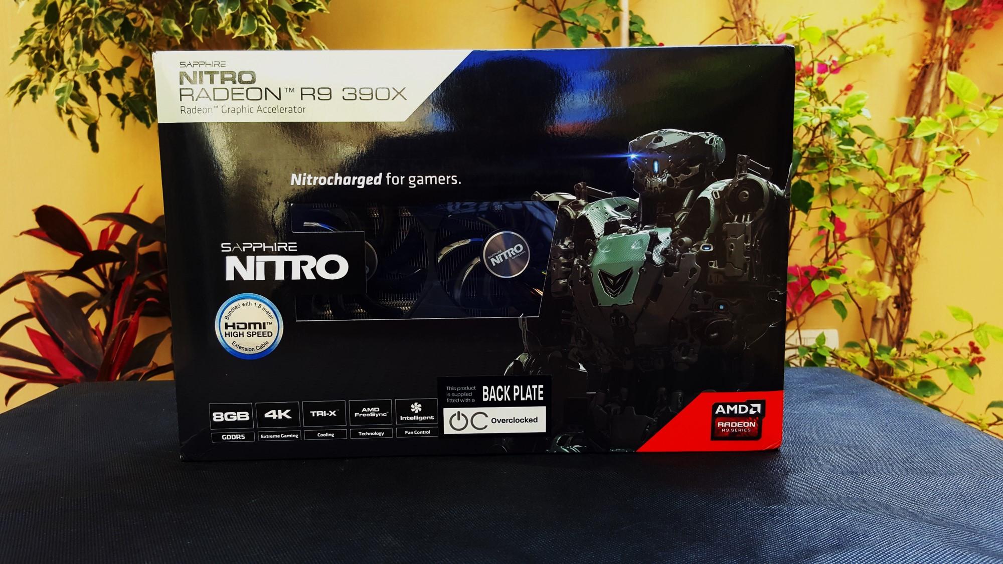 مراجعة البطاقة الرسومية Sapphire Nitro R9 390X 8GB - عرب هاردوير