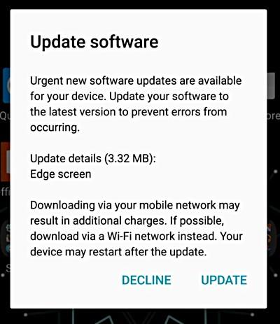 هاتف سامسونج Galaxy S7 edge