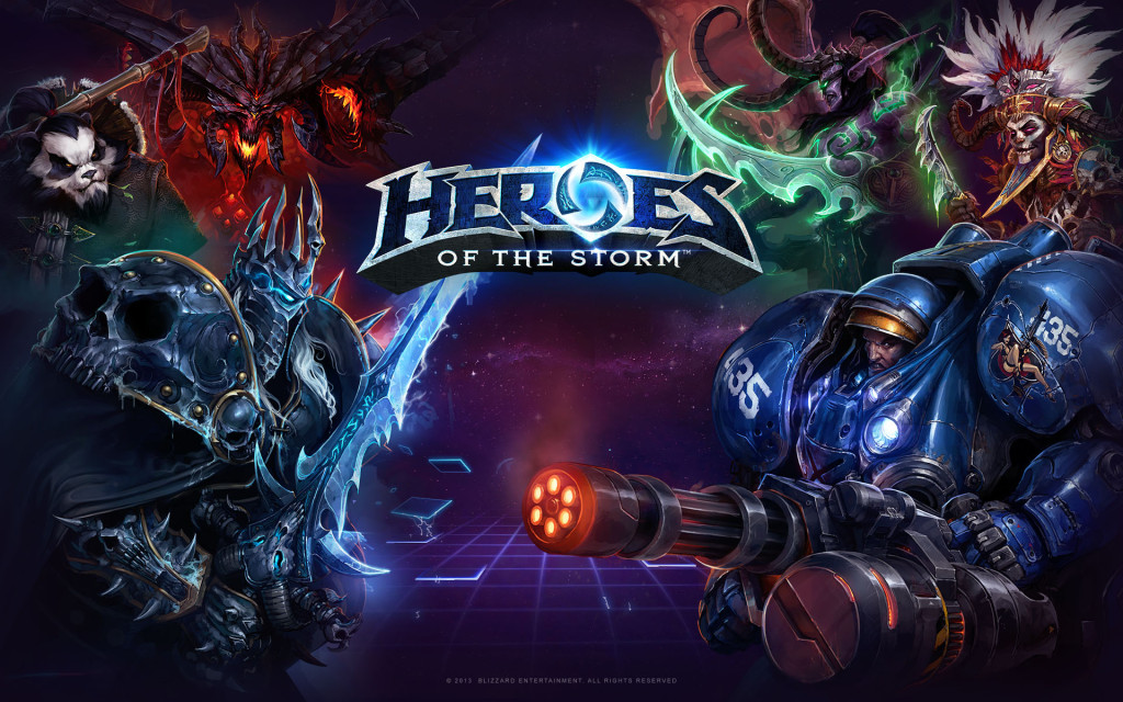 Blizzard heroes of the Storm eSports