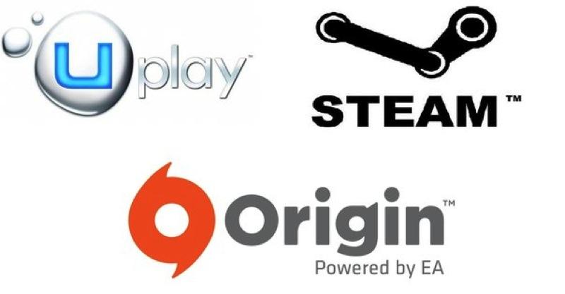 تعرف على نشأة منصات الألعاب على PC وهم Steam / Uplay / Origin